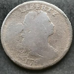 1797-Large-Cent-Draped-Bust-One-Cent-nice-early-coin-4834