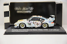 PORSCHE 911 GT2 EVO WOLINSKI #68 LE MANS 1998 MINICHAMPS 1/43 NEUVE EN BOITE