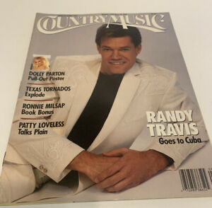 Vintage-Country-Music-Magazine-March-April-1991-Randy-Travis-Cover