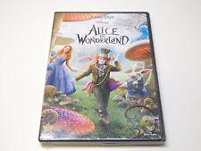 Brand New Alice in Wonderland DVD | Johnny Depp, Mia Wasikowska, Anne Hathaway