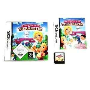 Nintendo-Jeu-DS-Jeux-Nous-Veterinaire-Emballage-D-039-Origine-avec-Manuel