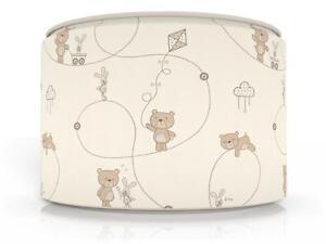 Little Teddy Bear Light Ceiling Lamp Shade 11 Quot Brand New