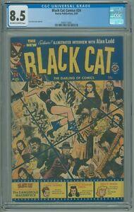 Black-Cat-Comics-24-CGC-8-5-VF-Lee-Elias-1950-Harvey-Publications-GGA