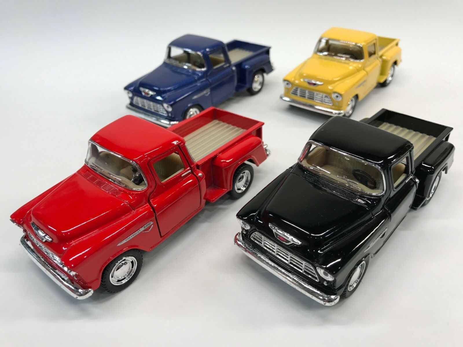 Chevy 55 Stepside Pick-up 1 32 Scale KT.5330 Set of 4