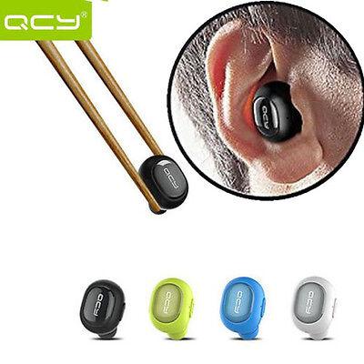 Mini Wireless Bluetooth Headset Stereo Earphone Headphone For Samsung iPhone HTC