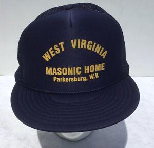 Fabulous Details About Vintage Masonic Home West Virginia Parkersburg Wv Trucker Hat Mesh Snapback Foam Interior Design Ideas Philsoteloinfo