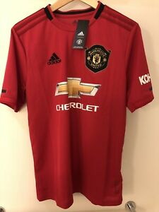 new adidas youth x large manchester united jersey 2019 20 home manu kids red xl ebay details about new adidas youth x large manchester united jersey 2019 20 home manu kids red xl