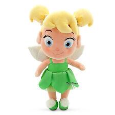 "Toddler Tinker Bell Fairy Peter Pan 12 1/2"" Plush Toy Doll 2015 Disney Store"