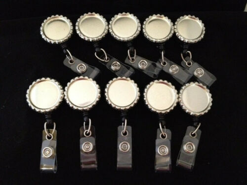 KIT TO MAKE YOUR OWN Retractable ID Badge Reel Kit Set of 50