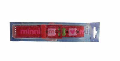 Accurato Cintura Bimba Minnie Regolabile - Rossa Gamma Completa Di Articoli