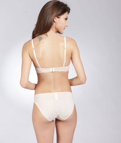 with matching panties Diff colours E et D S43037 Embroidery Underwire Bra