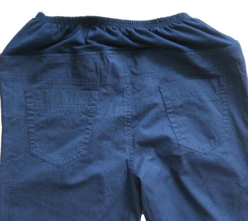 New Womens Blue NEXT Maternity Trousers Size 12 10 8 Long Regular RRP £30