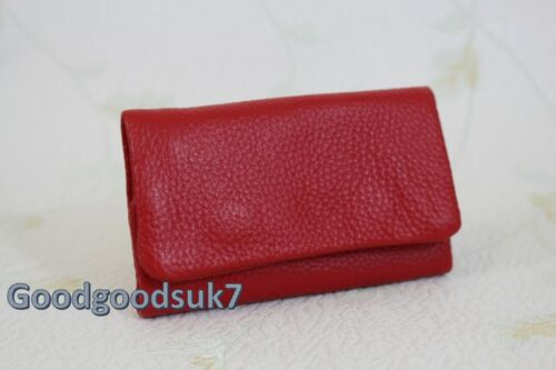 New Colour Quality Genuine Leather Keychain Pouch Bag Wallet Case Key Holder