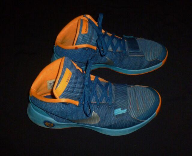 new concept 78eac eeec5 NIKE KD TREY 5 III BASKETBALL SHOES 749377-404 SIZE 13 Blue Orange