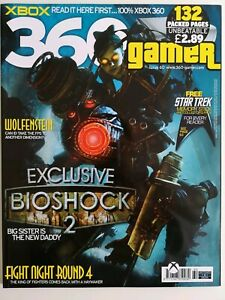 360 Gamer Xbox Magazine Issue 60 Bioshock 2 Cover - As New