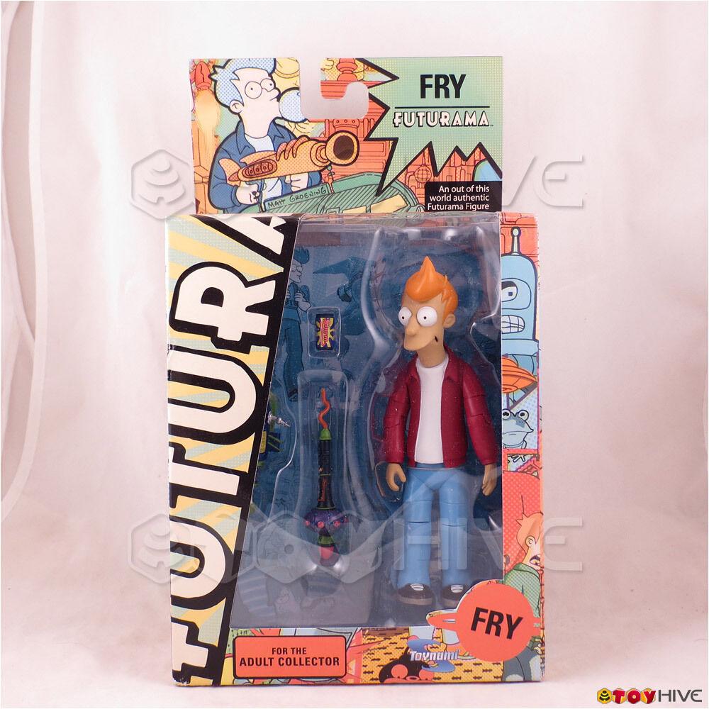 Futurama Phillip J. Fry Figura de Acción 2009 Encore Edition por Juguetenami-CAJA DESGASTADA