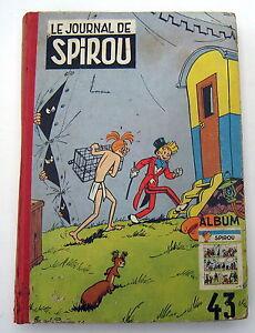 SPIROU-RELIURE-DUPUIS-NO-43-1952-ETAT-CORRECT