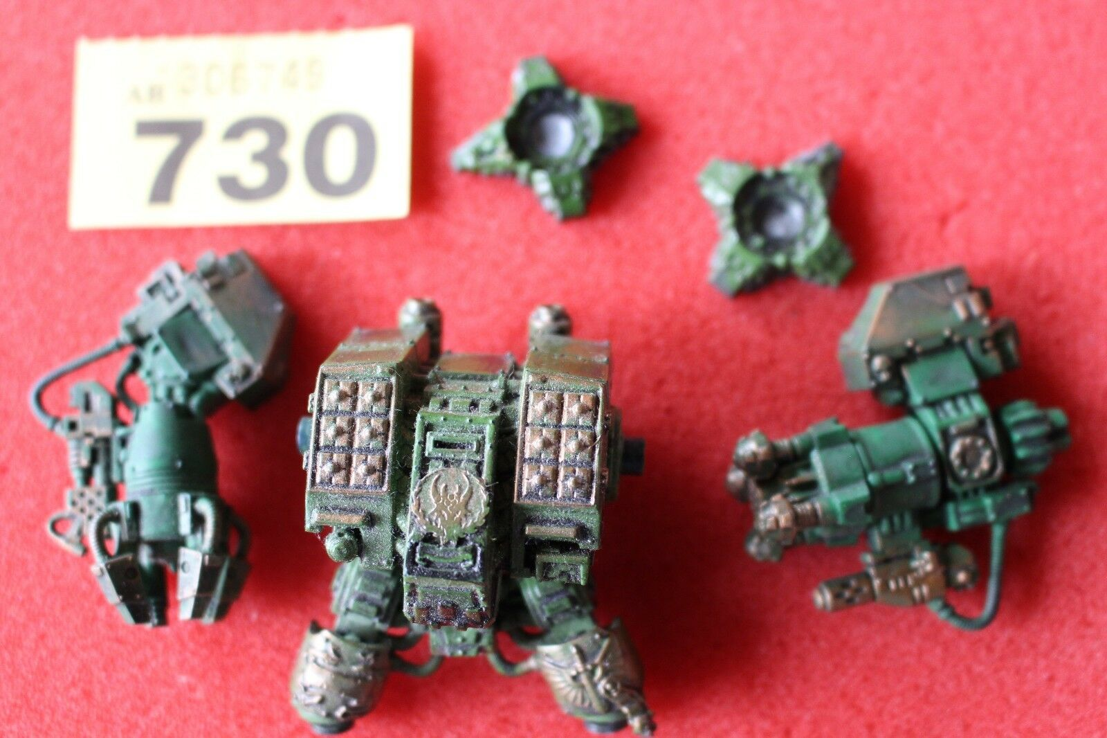 Games Workshop Warhammer 40K Space Marines Ironclad Dreadnought Part Painted