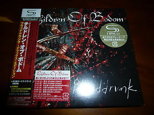 Children-Of-Bodom-Blooddrunk-JAPAN-2-SHMCD-DVD-NEW-C9