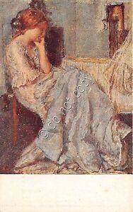 Cartolina - Postcard - Illustrata - Roelofs - prime angoscie - 1920 - Italia - Cartolina - Postcard - Illustrata - Roelofs - prime angoscie - 1920 - Italia