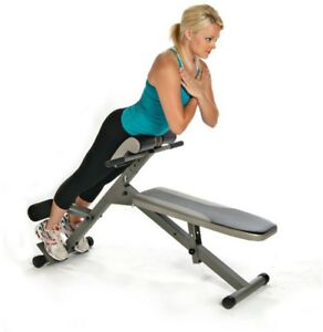 stamina ab/hyper bench pro home gym exercise equipment