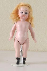 Doll-Mignonnette-Poupee-Repro-034-K3-034-Kestner-16-cm