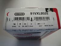 Chaine de tronconneuse Oregon 91VXL052E 3/8'', 1.3mm, 52 maillons