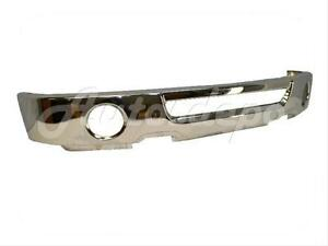 For 2006-2008 Ford F150 Pickup Front Bumper Face Bar Chrome (With Fog Hole) 643307262469