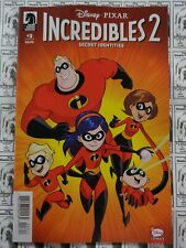 Incredibles 2 Secret Identities 1A Claudio-Vinci Variant NM 2019 Stock Image