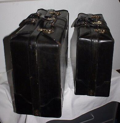 """2 St.,schwarz """"presto"""" Koffer Set Mit Zahlenschloss Und Schiebern Exquisite Handwerkskunst; Stapelbar"""