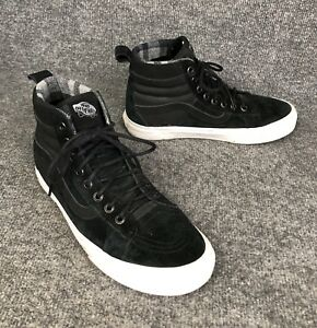 Wall Sneakers Shoes Black Suede High