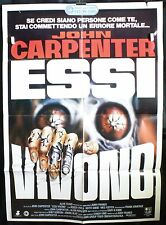 Manifesto 2F - Essi vivono di John Carpenter, con Keith David