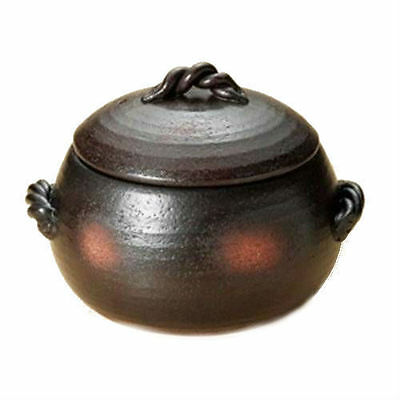 Japanese Clay Rice Cooker (Donabe banko yaki pot) With Lid