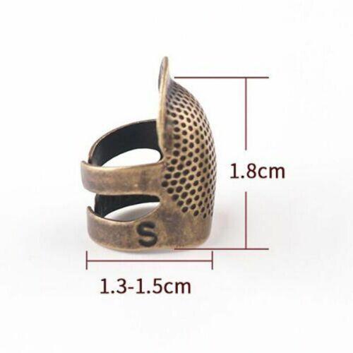 1PCS Finger Protector Antique Thimble Handworking Needles Tools Accessories