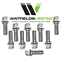 20 x M14 x 1.5 wheel bolts 50mm Thread Length 17mm Hex Head Radius Fitment