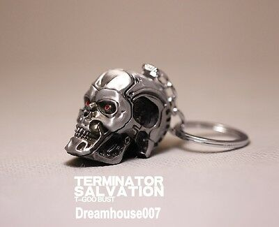 Terminator Salvation Endo Skull Head Action Figure Key Ring key chain copper Hot