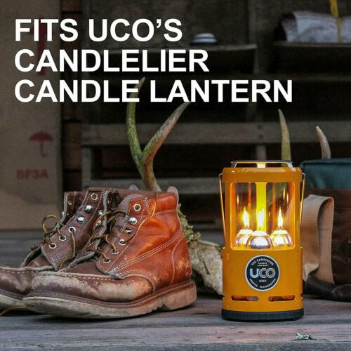 White Candles Candle UCO Lanterns and Emergency Preparedness 9-Hour 9 pack