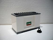 LEGO® Eisenbahn Container weiß für 3677, 7898, 7938, 7939 - City - NEU 2