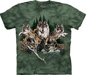 Trova Shirt 12 Wolves Adulto Unisex T The Mountain Wolf grgawq
