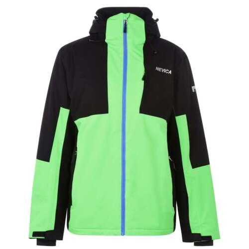 NEVICA Brixen Veste pour homme Gents ski manteau femme pleine longueur manches col haut eau