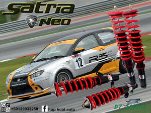 PROTON-SATRIA-NEO-D7-JAPAN-ADJUSTABLE-COILOVER-HIGH-LOW-BODY-SHIFT