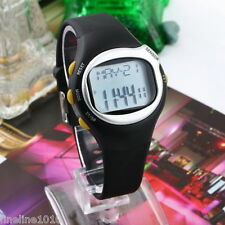 Fitness Watch Pulse Heart Rate Monitor Calorie Counter Sport Running Jogging