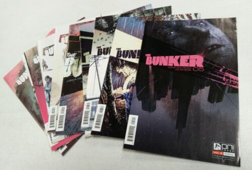 THE BUNKER 5 6 7 8 9 10 11 12 13 14 SCIENCE FICTION ONI PRESS FIALKOV COMIC BOOK