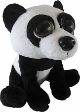 Petjes World Bright Eyes Panda Soft Toy 20cm - Brand New
