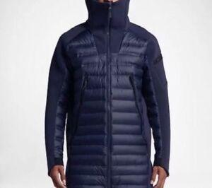 4215e8b143c5 Image is loading Nike-Sportswear-Tech-Fleece-AerLloft-Down-Parka-Jacket-