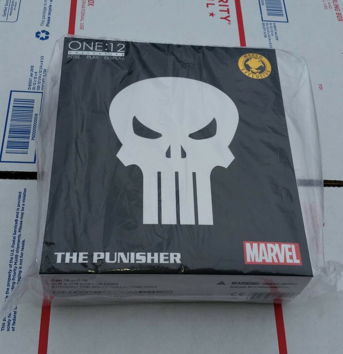 SDCC Mezco One 12 Special Ops Punisher Action Figure Exclusive Brand New