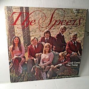 The-Speers-God-Gave-The-Song-Vinyl-Gospel-LP-Heart-Warming-Records-1974
