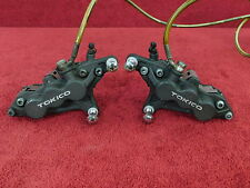 L&R TOKICO 6-PISTON CALIPERS w/SS LINES ZX7 ZX6R ZZR600 98-08    FRONT BRAKE