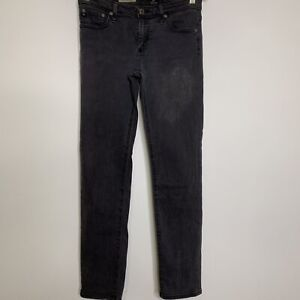 Adriano-Goldschmied-Womens-The-Stevie-Ankle-Jeans-Slim-Straight-Low-Rise-Sz-27R