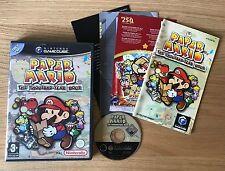 Paper Mario The Thousand-Year Door Nintendo GameCube Game | PAL Complete VGC